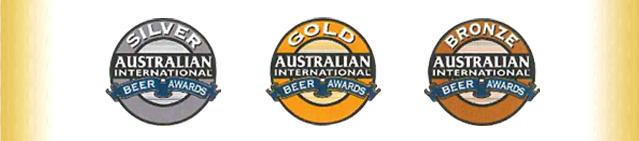 ビール・コンペ、オーストラリアのAIBAにて賞を獲得